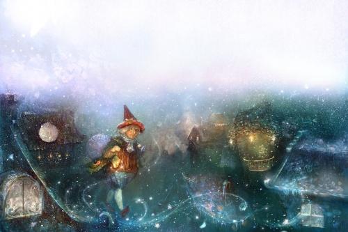 Сказочные миры художника-иллюстратора Полины Яковлевой (54 работ)