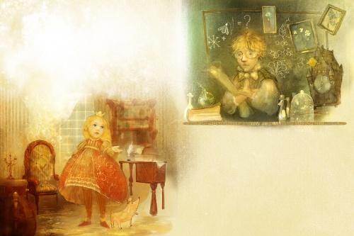 Сказочные миры художника-иллюстратора Полины Яковлевой (54 фото)