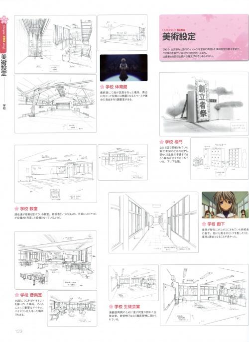 Clannad TV Animation Visual Fan Book (148 фото)