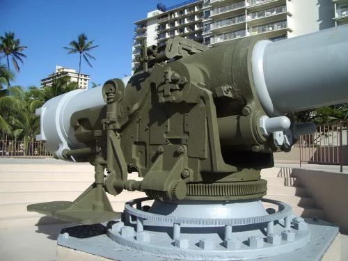 Фотообозор - американское корабельное орудие US 7