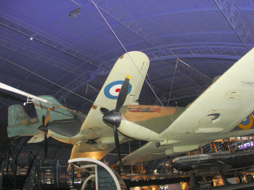 Фотообзор - британский истребитель Supermarine Spitfire MK1A (P9444) (38 фото)