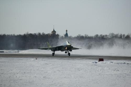 Российский истребитель пятого поколения ПАК ФА Т-50 (11 фото)