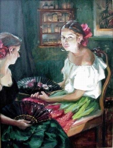 Художник Gladys Roldan de Moras (113 фото)