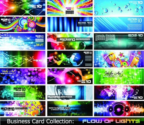 Colorful abstract cards (5 фото)