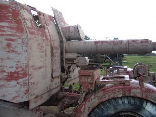 German 88mm FlaK 41 Anti-Aicraft Gun Walk Around (25 фото)