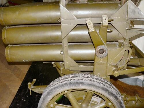 Фотообзор - немецкая система залпового огня 15cm Nebelwerfer (15 Barrel) (100 фото)