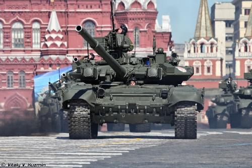Генеральная репетиция Парада Победы 2013 на Красной площади (59 фото)