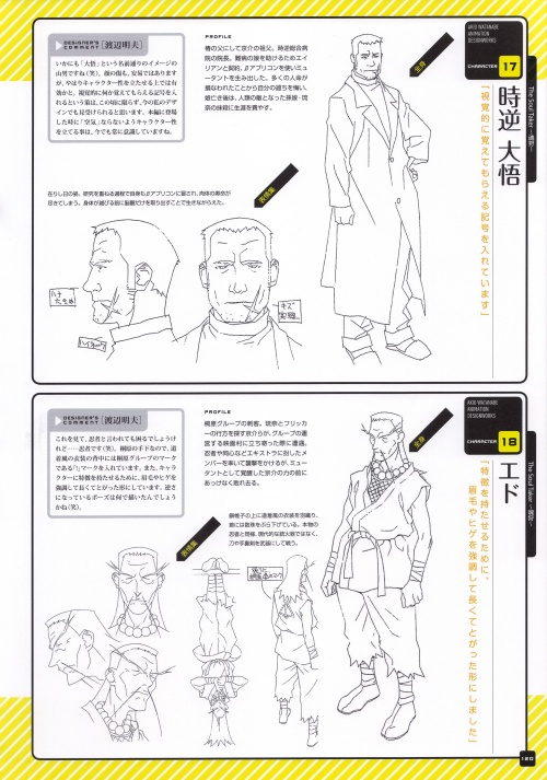 Akio Watanabe Animation Design Works (185 фото)