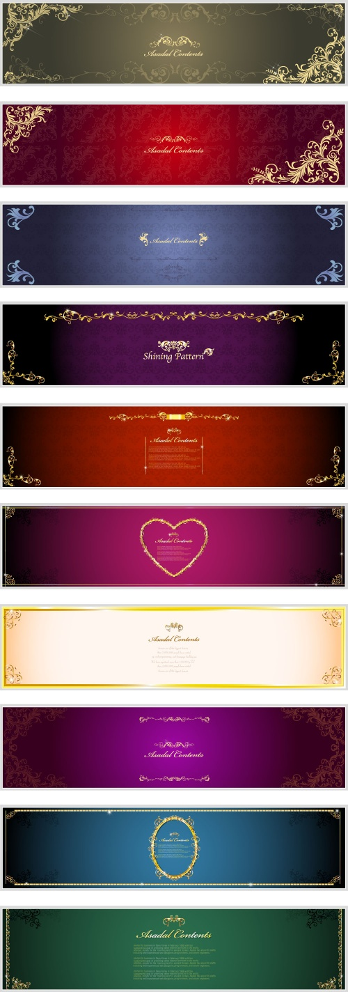 Luxury backgrounds banners (5 фото)
