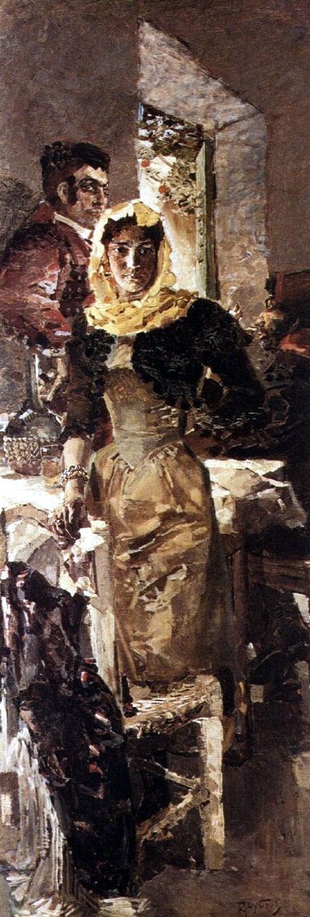 Работы художника Михаила Врубеля / Works of artist Mikhail Vrubel (164 фото)