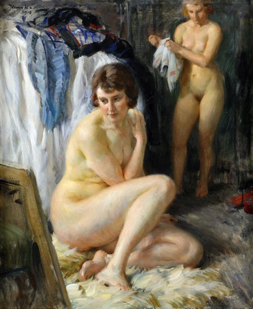 Художник Jakub Obrovsky (1882-1949) (43 фото)