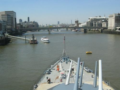 Фотообзор - британский крейсер HMS Belfast (33 фото)