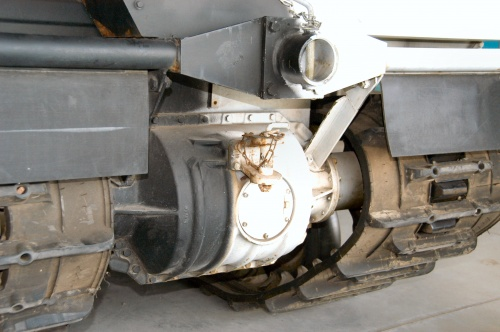 Фотообзор - гусеничный двухсекционный вездеход BV-202 (70 фото)