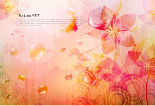 Flower abstract backgrounds (13 фото)