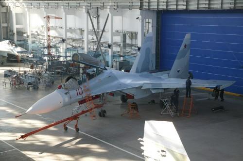 Российский многоцелевой истребитель Су-30М2 (13 фото)