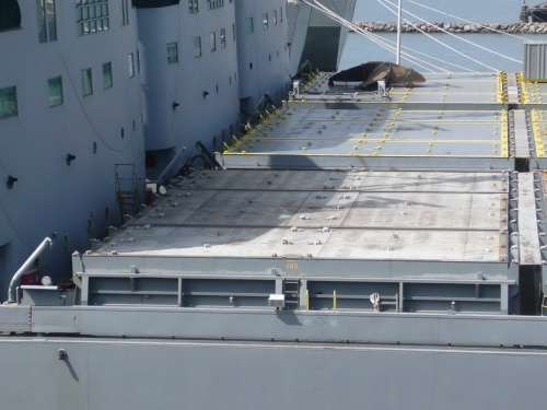 Фотообзор - американский транспортный корабль USNS Gem State (86 фото)