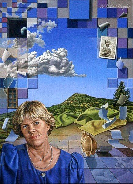 Сюрреалист Roland Hayder (236 работ)