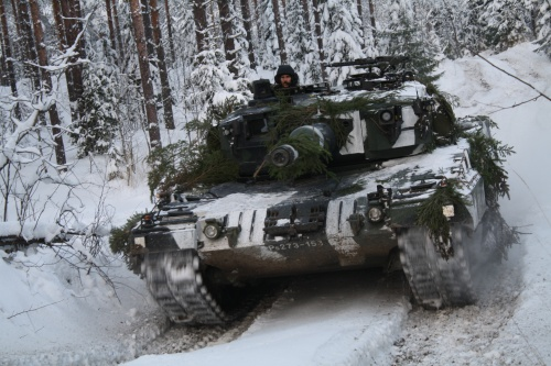 Финский Leopard 2 (6 фото)