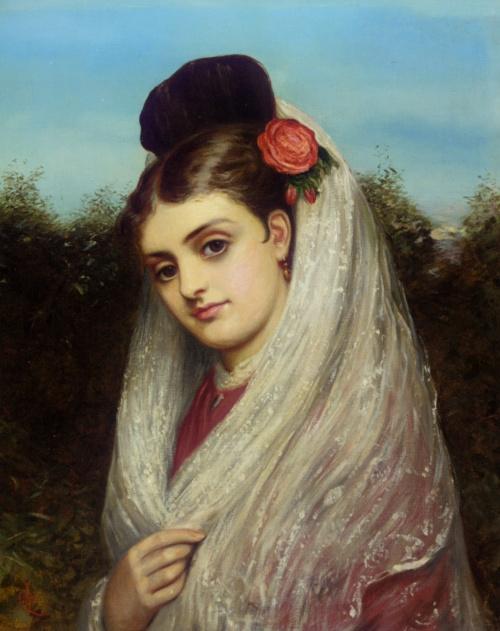 Английский художник Charles Sillem Lidderdale (1830 - 1895) (100 работ)