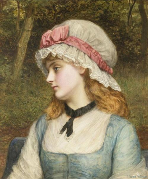 Английский художник Charles Sillem Lidderdale (1830 - 1895) (100 фото)
