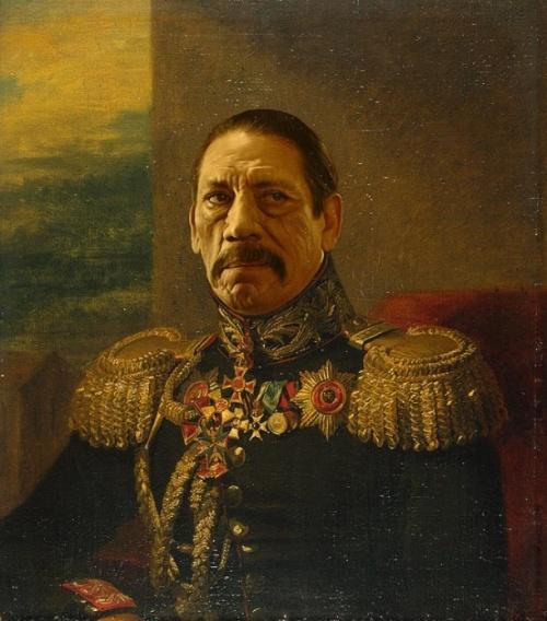 Знаменитости в форме русских генералов (71 фото)