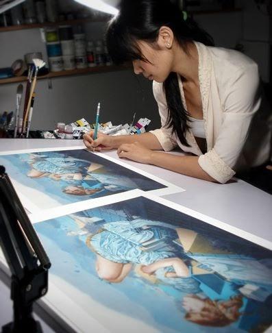 Художник Tran Nguyen (100 обоев)