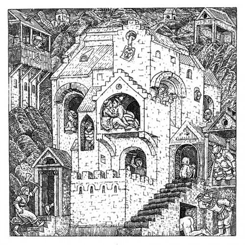 Иштван Орос (Orosz István ) венгерский художник-график. Обман зрения (37 работ)