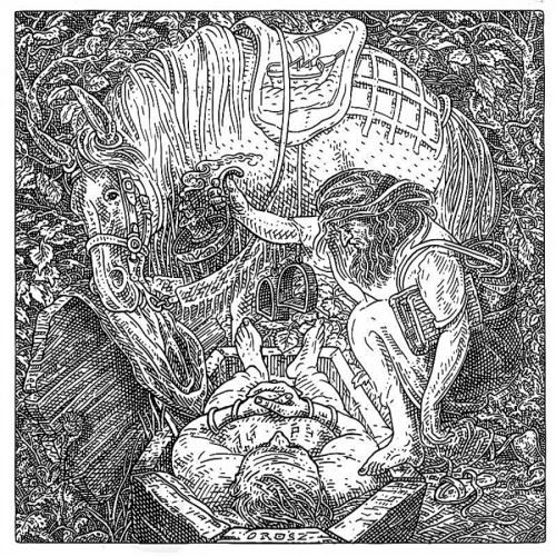 Иштван Орос (Orosz István ) венгерский художник-график. Обман зрения (37 обоев)