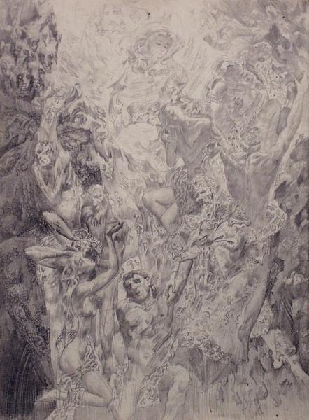 Работы художника Александра Маранова (89 обоев)