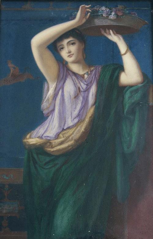 Английский художник Augustus Jules Bouvier (1827–1881) (54 обоев)