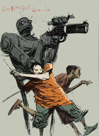 Art Work Ashley Wood (73 работ)