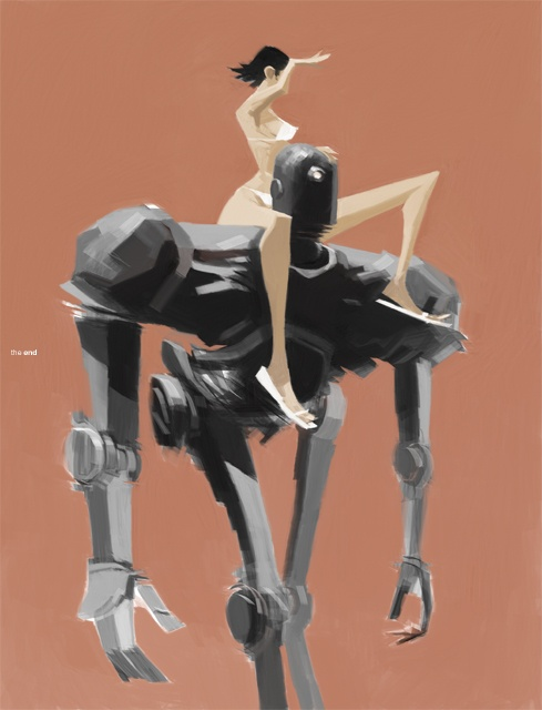 Art Work Ashley Wood (73 обоев)