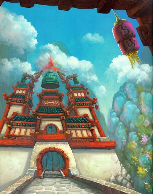 The Art of World of Warcraft: Mists of Pandaria (207 обоев)