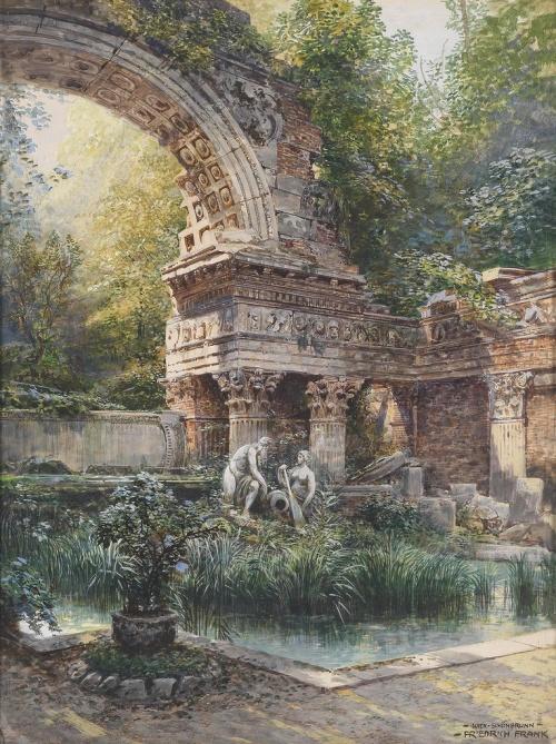 Австрийский художник Friedrich Frank (1871-1945) (19 обоев)