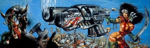 Simon Bisley - Heavy Metal 2000 (25 обоев)