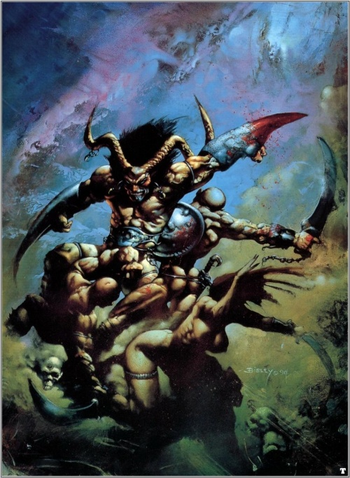 Simon Bisley - Heavy Metal 2000 (25 обоев)