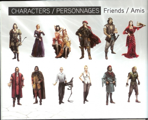 The Art of Assassin's Creed 2 (67 обоев)
