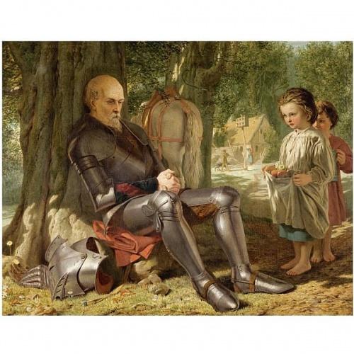 Английский художник Marcus Stone (1840-1921) (67 работ)