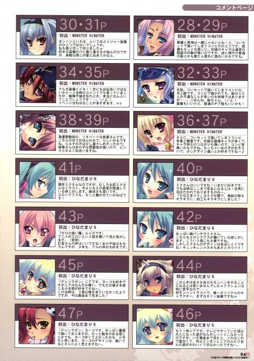 Artbooks / Hinadamari (Katagiri Hinata) - Hinamatsuri (82 обоев)
