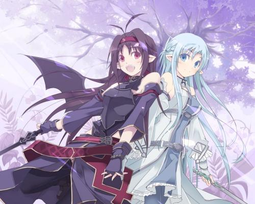 Art - Sword Art Online Part 2 (185 обоев)