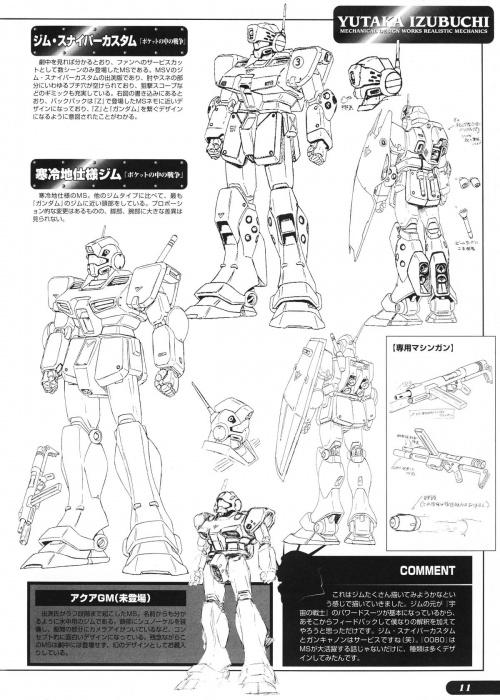 "Yutaka Izubuchi ""Mechanical Design Works I - Realistic World I"" (109 обоев)"