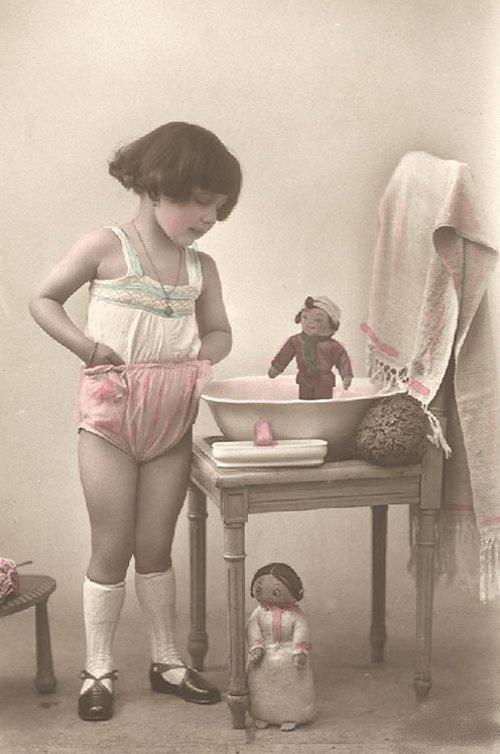 """Винтажные фото. серия """"Дети и Куклы"""" (184 обоев)"""