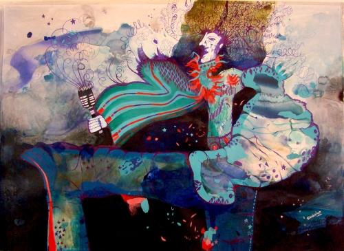 Соленые работы аргентинского художника Эстела Квадро (Estela Cuadro) (20 работ)