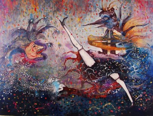 Соленые работы аргентинского художника Эстела Квадро (Estela Cuadro) (20 обоев)