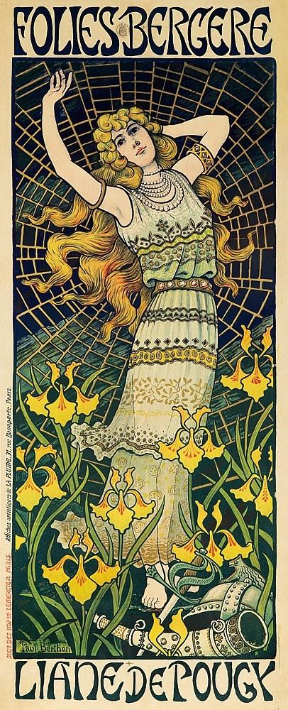 Французский художник и литограф Paul Emile Berthon (1872–1909) (47 работ)