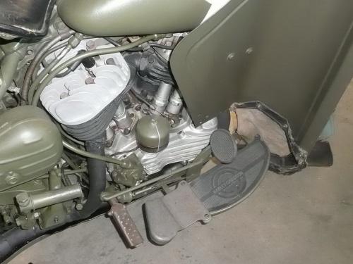 Американский мотоцикл Harley-Davidson WLA.45 (49 фото)