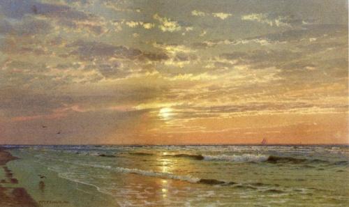 Морские акварельные пейзажи Уильяма Троста Ричардса (38 обоев)