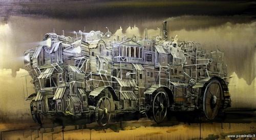 Работы художника Modestas Malinauskas (38 работ)