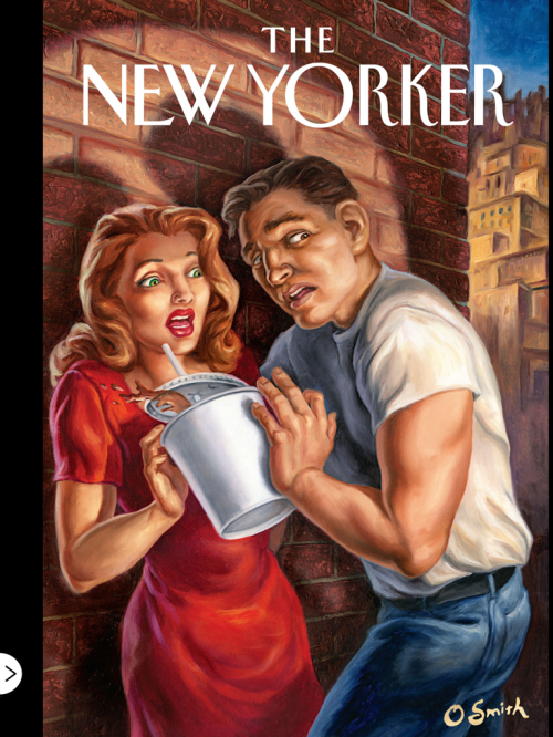 Covers magazine New Yorker 2 | Обложки журнала New Yorker 2 (328 работ)