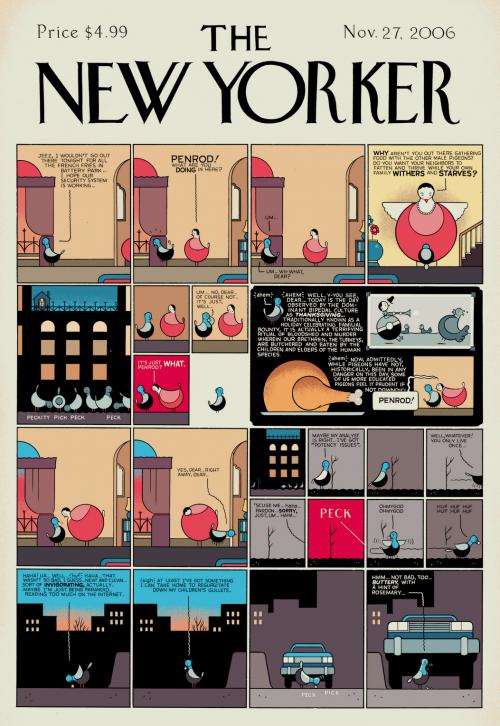 Covers magazine New Yorker 2 | Обложки журнала New Yorker 2 (328 обоев)